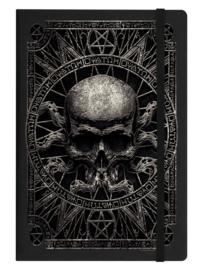 Notitieboek - Pagan Skull - A5