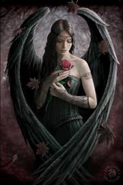 Anne Stokes - Angel Rose - 30 x 40cm 3Dprint