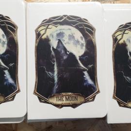 Notitieboek - Deadly Tarot Obsidian - The Moon - A5