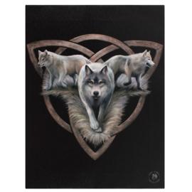 Canvas - Wolf Trio - Anne Stokes