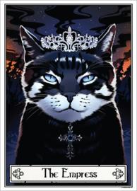 Mini poster - Deadly Tarot Felis - The Empress