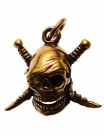 Skull Pirate - hanger - Brons