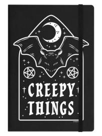 Notitieboek - Creepy Things - A5