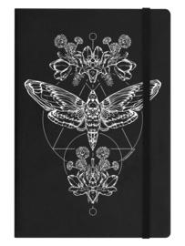 Notitieboek - Death Head Moth - A5