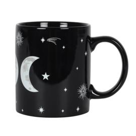Mok - Wiccan Triple Moon - Black Magic