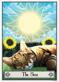 Mini poster - Deadly Tarot Felis - The Sun