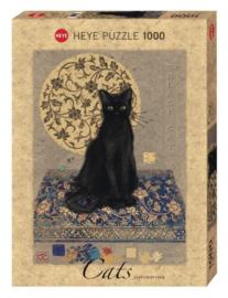 Puzzel - Black Cat - Heye