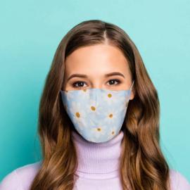 Mondmasker - Oopsie Daisy Margriet - Herbruikbaar
