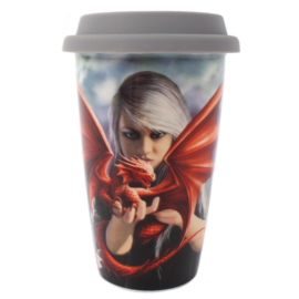 Travel mug - Dragon Kin - Anne Stokes