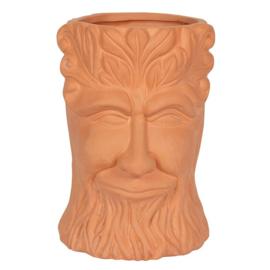 Terracotta Tree Man - plantenpot