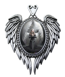 Prayer For The Fallen Cameo - Ketting - Anne Stokes
