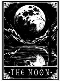 Mini poster - Deadly Tarot - The Moon