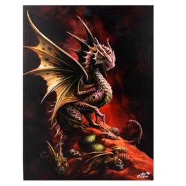 Canvas 50x70cm  - Desert Dragon - Anne Stokes