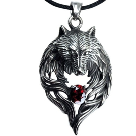 Hanger - Wolf Head - Stainless steel
