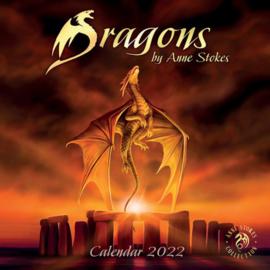 Anne Stokes kalender 2022 - Dragons