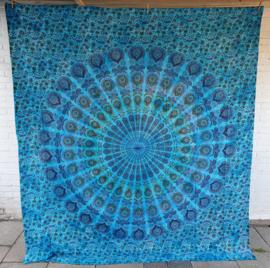 Bedsprei / wandkleed - Mandala