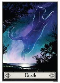 Mini poster - Deadly Tarot Felis - Death