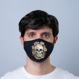 Mondmasker - Schedel & Rozen - Herbruikbaar