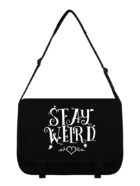 Messenger bag - Stay Weird