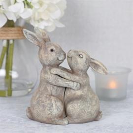 Bunny Couple ornament