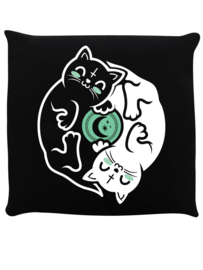 Sierkussen - Witchy Kittens Yin Yang