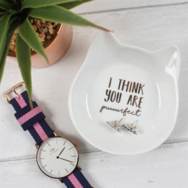 I think you are puuurfect - Trinket dish