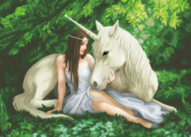 Diamond painting - Pure Heart - Anne Stokes