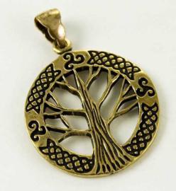 Tree Of Life - hanger - Brons