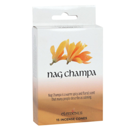 Elements - Nag Champa -  incense cones
