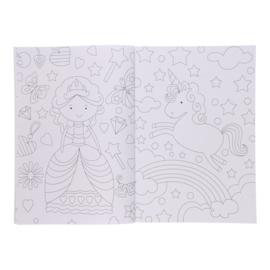 Super Kleurboek - Eenhoorn en Zeemeermin