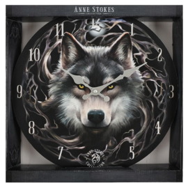 Wandklok - Night Forest - Anne Stokes