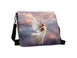 Embossed shoulder bag - Ascendance - Anne Stokes
