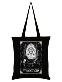 Tote bag - Deadly Tarot Five Of Pentacles