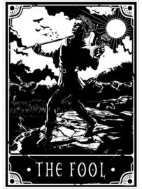 Mini poster - Deadly Tarot - The Fool