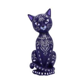 Beeld - Purple Mystic Kitty - 26cm