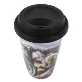 Travel mug - Protector - Anne Stokes