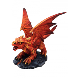 Anne Stokes - Baby Fire Dragon - 11,5cm