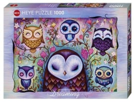 Puzzel - Great Big Owl - Heye