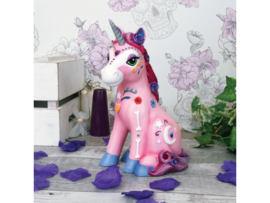 Beeld - Candycorn - Unicorn -  24cm