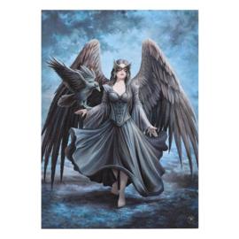 Canvas 50x70cm  - Raven - Anne Stokes