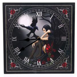 Wandklok - Dark Fairy - Lisa Parker