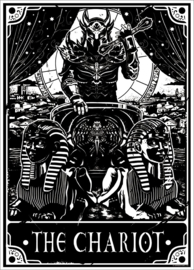 Mini poster - Deadly Tarot - The Chariot