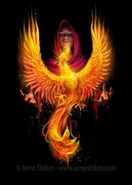 Anne Stokes - Phoenix Rising - 30 x 40cm 3Dprint