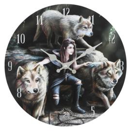 Wandklok - Power of Three - Anne Stokes