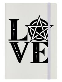 Notitieboek - Pentagram Love - A5