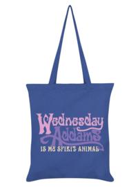 Tote bag - Wednesday Addams Is My Spirit Animal Cornflower