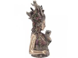 Beeld Bronze - Gaia Bust -  26cm