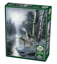 Puzzel - Wolves by Moonlight - James A. Meager