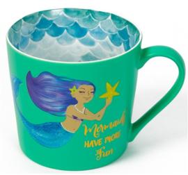 Groene Mermaid mok