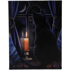 Canvas - Midnight Vigil - Lisa Parker
